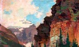 Edward Henry Potthast, 'Nei pressi di Helena', Montana.