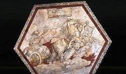 Alessandro Franchi, 'Ascensione di Elia sul carro di fuoco'