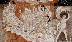 Pinturicchio, 'Allegoria del Monte della Sapienza' (particolare)