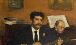 Lorenzo Pagans e Auguste de Gas, 1871-1872 - © RMN (Musée d'Orsay) / Patrice Schmidt - Réunion des Musée Nationaux/ distr. Alinari