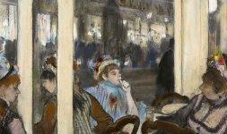 Donne fuori da un caffè la sera, 1877 - © RMN (Musée d'Orsay) / Hervé Lewandowski - Réunion des Musée Nationaux/ distr. Alinari