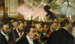 L'orchestra dell'Opéra, 1870 circa - © RMN (Musée d'Orsay) / Hervé Lewandowski - Réunion des Musée Nationaux/ distr. Alinari