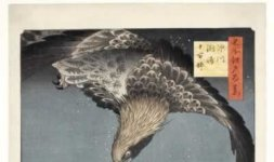 'Fukagawa. Susaki e Jūmantsubo', serie: Cento vedute di luoghi celebri di Edo, 1857