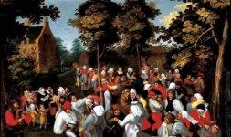 Marten van Cleve, 'Danza nuziale', 1570-1580 ca.