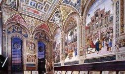 Interno Libreria Piccolomini, Siena, Duomo