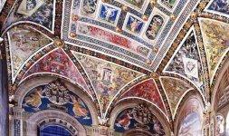 Interno Libreria Piccolomini, Siena, Duomo (particolare)