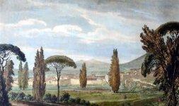 Campagna romana da Villa d'Este