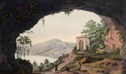 Lago di Albano dal convento dei Cappuccini