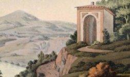 Lago di Albano dal convento dei Cappuccini (Part)