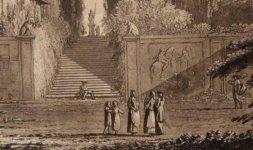 Veduta del giardino di Villa Negroni (Part)