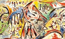 Jackson Pollock, 'The Water Bull', 1946 © Jackson Pollock, by SIAE 2014