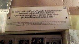 I vari passaggi della giustizia italiana sul caso Petrosino (Photo ©Francesca Nanni)