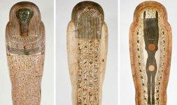 Sarcofago antropoide di Peftjauneith - XXVI dinastia (664-525 a.C.)