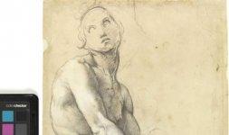 Raffaello, 'Adamo', Firenze, Gabinetto Disegni e Stampe degli Uffizi