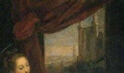 Federico Barocci, 'Annunciazione', Città del Vaticano, Musei Vaticani (part.)