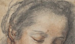 Federico Barocci, 'Testa di donna', Firenze, Gabinetto Disegni e Stampe degli Uffizi