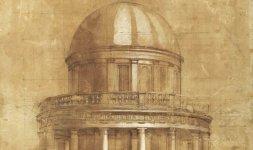 Federico Barocci, 'Tempietto di San Pietro in Montorio', Firenze, Gabinetto Disegni e Stampe degli Uffizi