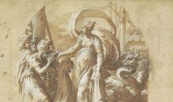 Parmigianino, 'Circe', Firenze, Gabinetto Disegni e Stampe degli Uffizi