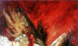 Gianni Testa, 'Inferno', 1999. Olio su Tela 60x60