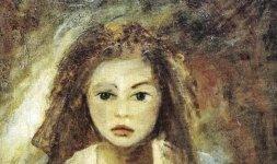 Gianni Testa, 'Ritratto di Chiara', 1988, olio su tela 60x50