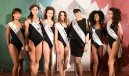 Da sinistra: Yasmine Dkhili, Chiara Tranquilli, Daniela Romagnoli, Silvia Pucci, Alice Sabatini, Francesca Stagnì, Linda Carbonari - Photo ©Valerio Tutto Flash Cosmi
