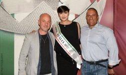 L'hairstylist Lello Sebastiani, Alice Sabatini ed il suo personal trainer Tommaso Capezzone - Photo ©Valerio Tutto Flash Cosmi