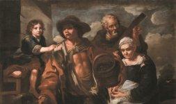 Eberhard Keilhau detto Monsù Bernardo (e bottega), 'Venditori ambulanti'