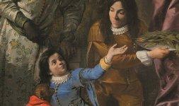 Anton Domenico Gabbiani, 'Quattro servitori alla corte dei Medici' (particolare)