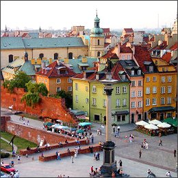 Varsavia, regina del turismo 5 stelle economico
