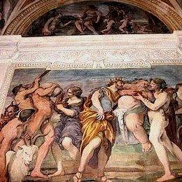 Rinvenuto a Roma un affresco del Sacchi, Ariè: