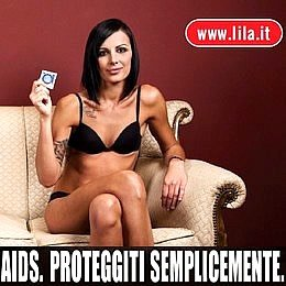 AIDS: Lila,