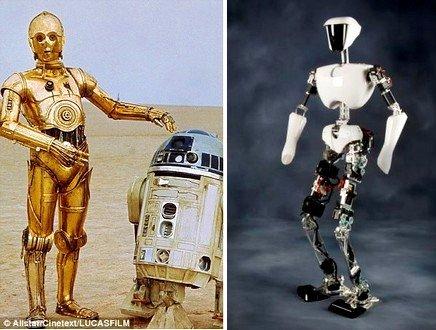 Da Guerre Stellari alle portaerei americane, ricostruito il robot C-3PO