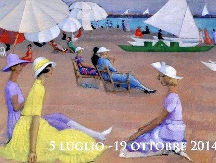 Luci e riverberi marini di una Viareggio cosmopolita nelle tele di Moses Levy