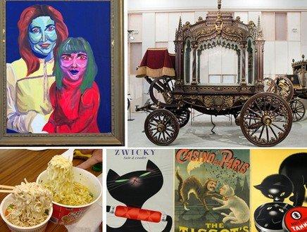 Gatti, carri funebri e quadri orribili: ecco i musei più strani e bizzarri sparsi per il mondo