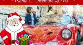 Con Babbo Natale a bordo di sogno chiamato Ferrari