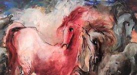 'Luci e Ombre': il caos primitivo trasmuta in figura nell'espressionismo onirico di Gianni Testa