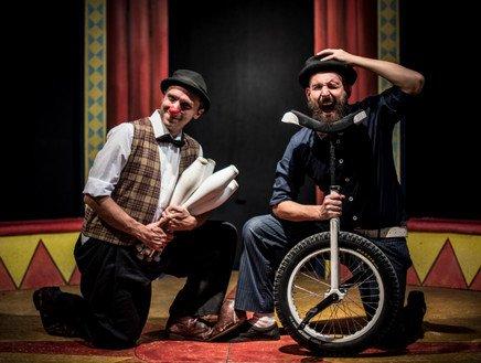 Clown dottori dalla corsia alla magia: allegria e solidarietà il 13 gennaio con il duo Rufus e Coriandolo Show