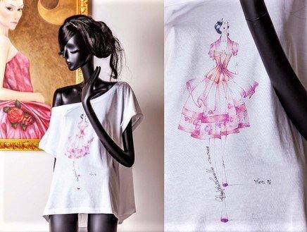 Resilienza creativa: capsule di t-shirt haute couture e VeganOk per Gian Paolo Zuccarello