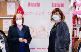 Maria Grazia Passeri ed Elisabetta Ripa AD Open Fiber